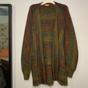 Mossimo supply (target) multicolor cardigan